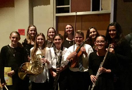 Long Beach Unified School District - 2017 Honor Band and Ohlendorf Honor  Orchestra Students